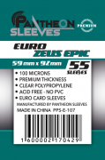 Протекторы Pantheon Sleeves 59*92 Euro Zeus epic